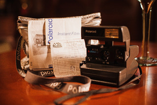 Câmera Polaroid Inglesa Instant 636, Bag E Nota Fiscal