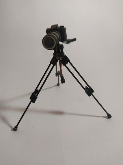 Miniatura De Câmera Fotográfica (nikon Anos 90) - Artesanal
