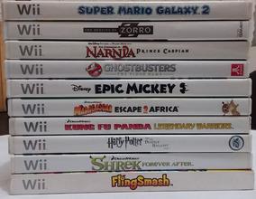 Jogo Nintendo Wii A Partir De 30 Reais