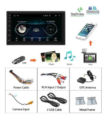 Radio Android 8.1 Pantalla 2 Din Wifi Gps Waze 2 Din Cámara