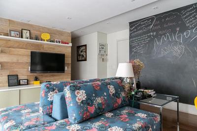 Apartamento No 1º Andar Com 3 Dormitórios E 2 Garagens - Id: 892917864 - 217864