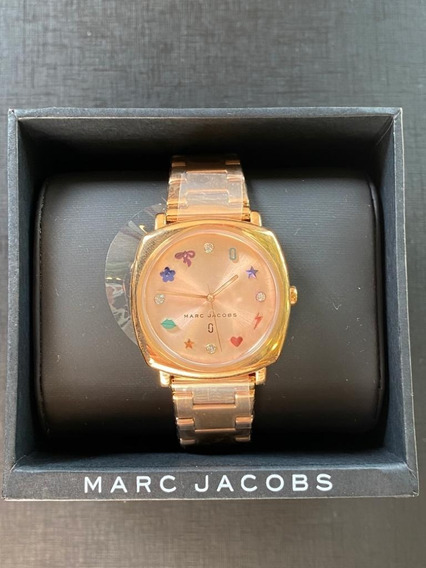 Relógio Marc Jacobs Metal Rose Mj3550 (original)
