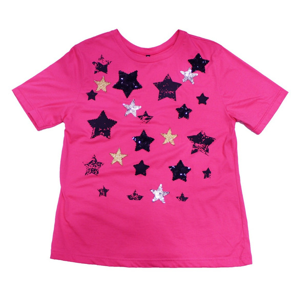 Remera Mujer April C/incrustaciones Stars 0050