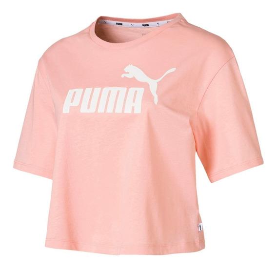 Camiseta Puma Essential Cropped Feminina - Original