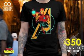 Playera Avengers Endgame - Yo Soy Iron Man - Envio Inc