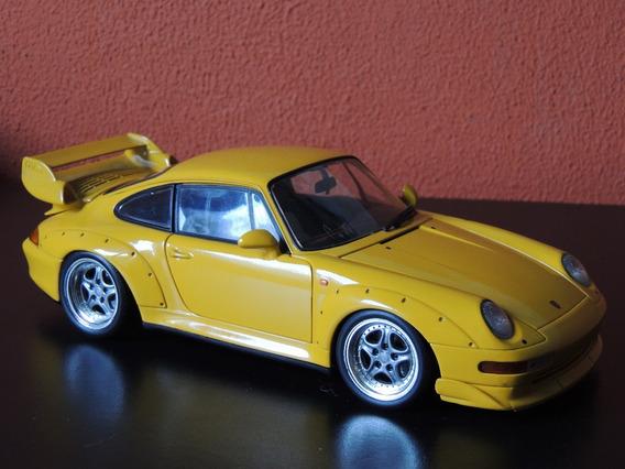 Miniatura Porsche 911 Series Amarelo 1:18 Ut Model