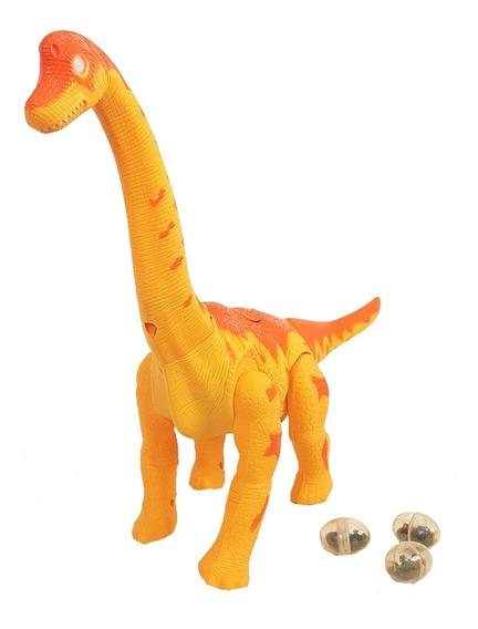 Dinosaurio Interactivo Pone Huevos Camina Y Sonidos