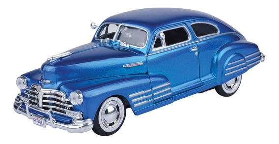 Auto Chevy Fleetine 1948 Escala 1/24 Colección Motormax