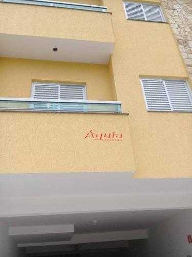 Apartamento Com 2 Dormitórios À Venda, 53 M² Por R$ 265.000,00 - Parque Novo Oratório - Santo André/sp - Ap1697