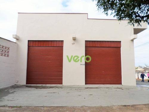 Imagem 1 de 10 de Salão Para Alugar, 75 M² Por R$ 1.200,00/mês - Vila Mathiesen - Americana/sp - Sl0008