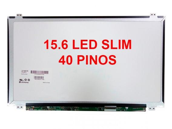 Tela 15.6 Led Slim 40 Pinos P/ Note Sony Vaio Sve151d11x