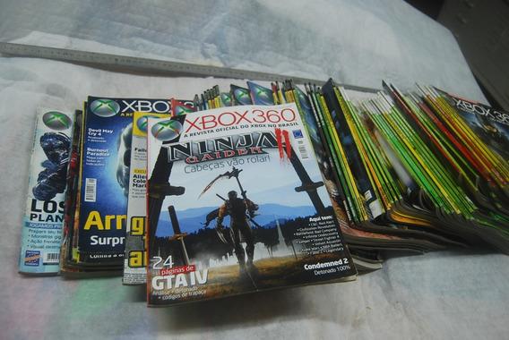 Lote De Revistas Xbox 360 45 Exemplares Em Ótimo Estado