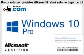 Windows 10 Professional Esd + Nota Fiscal + Garantia