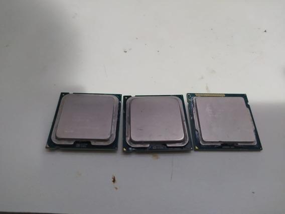Processadores Intel I3 2130; Pentium E5800; Core 2 Duo 2140