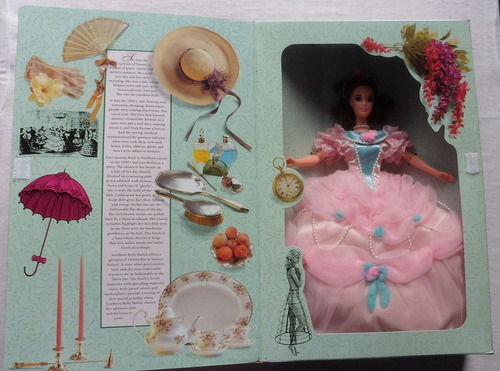 Mattel Gran Eras 1850de La Southern Belle Muñeca Barbie