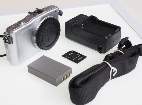 R$249 Mirrorless M4/3 Olympus Epm 1 Hd 12 Mp Só 3783 Clics!