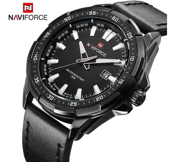Relógio Naviforce 9056 Original Analógico Militar Promoção