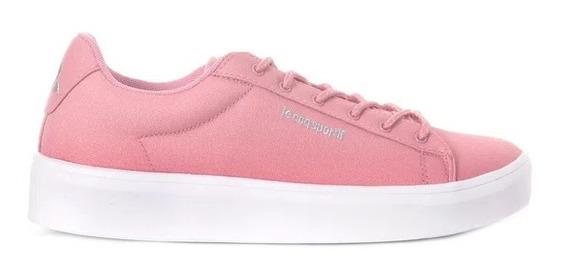 Zapatillas Le Coq Sportif Agate Hi Wind Dusty Pink Mujer