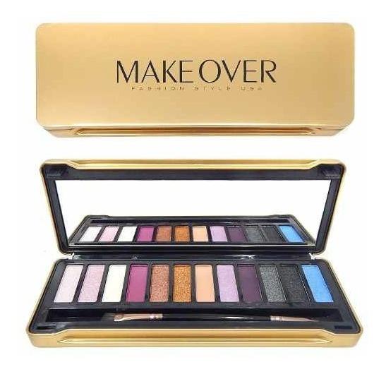 Makeover Paleta De Sombras Para Maquillaje De Ojos Jes-317