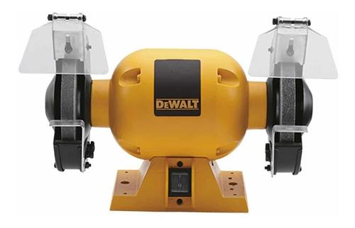 Amoladora De Banco Dewalt 1/2hp Dw752  Amarilla 220v