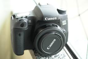 Canon 760d + Lente 40mm (canon T6s)