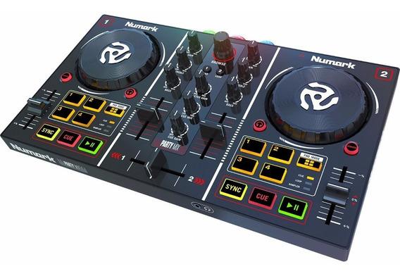 Numark Partymix Controladora Dj C Pre Escuta Party Mix Loja