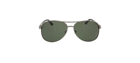 Óculos Masculino Alumínio Chumbo Lente Verde Siracusa