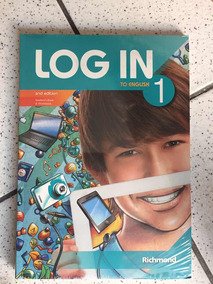 Livro Log In To English 1 + Cd Novo