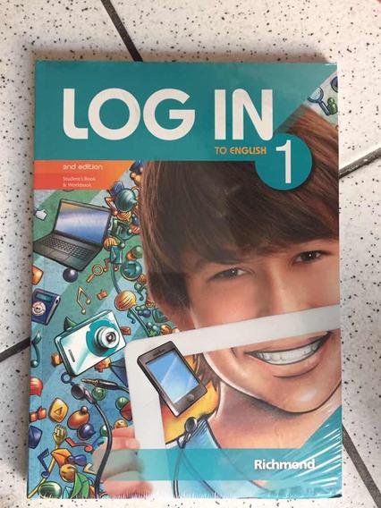 Livro Log In To English 1 + Cd Novo