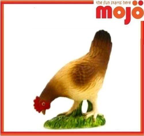 Mojo Fun 387053 Colorido Gallinero De La Gallina Realista De
