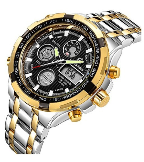 Relógio Tamlee Golden Hour Completo Original Pronta Entrega