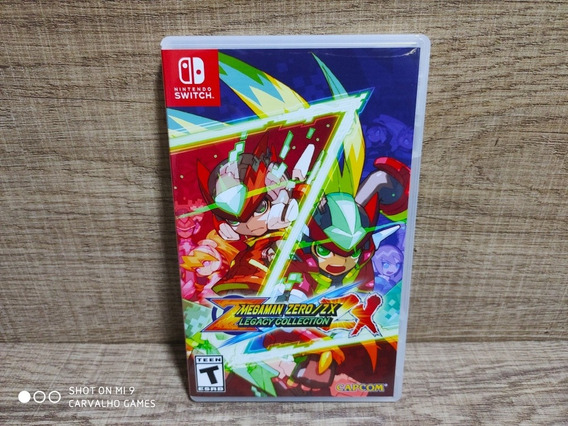 Mega Man Megaman Zero Zx Legacy Collection Nintendo Switch
