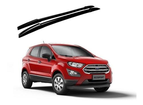 Imagem 1 de 2 de Longarina De Teto Decorativa Preta Ford Ecosport