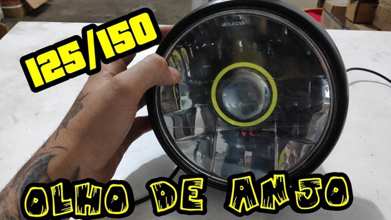 Farol Olho De Anjo Titan Todas. Bloco Otico+projetor