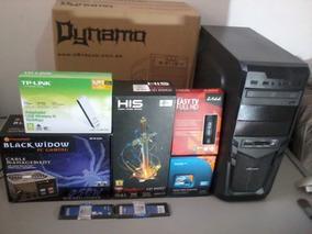 Pc Gamer Multimídia I5 8gb Hd500 Hd6850 Dvdrw Tv Hd Wifi