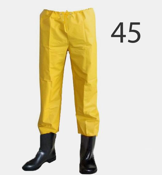 Kit 3 - Calça Para Saneamento Com Bota Acoplada (41 A 46)