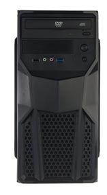 Cpu Nova Intel Dual Core 8gb Hd 500gb Office + Teclado Mouse
