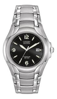 Reloj Citizen Bm6060-57f Titanium Eco Drive Agente Oficial