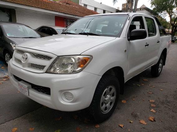 Toyota Hilux 2.5 Dx Cab Doble 4x2, Anticipo Mas Cuotas