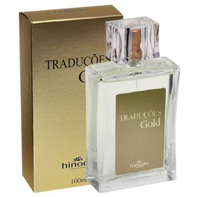 Perfume Traduções Gold Hinode - 100ml - Original