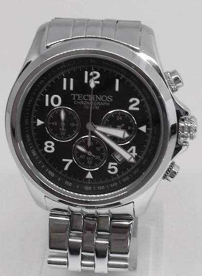 Relógio Technos Aço Masculino Cronógrafo Os20af
