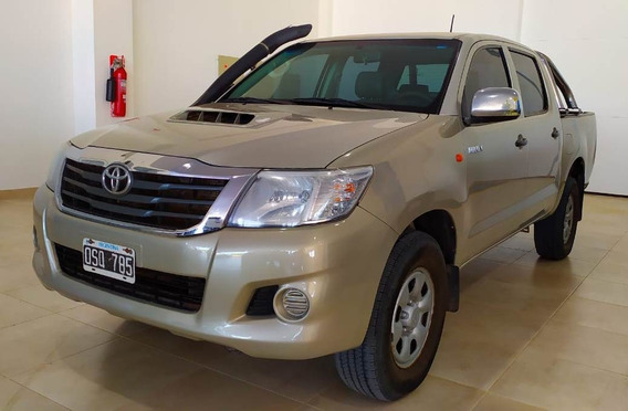 Toyota Hilux C/d Dx Pack 2.5td 4x4 2015 Beige Pick Up