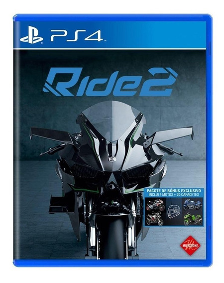Ride 2 Ps4 Mídia Física Pronta Entrega