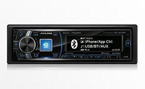 Imagen 1 de 1 de Estéreo Alpine Cde-hd149bt Single-din Bluetooth Coche Con Ra