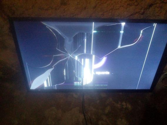 Tv Philco 32 Com Trinco Na Tela Mas Placas Conservadas.