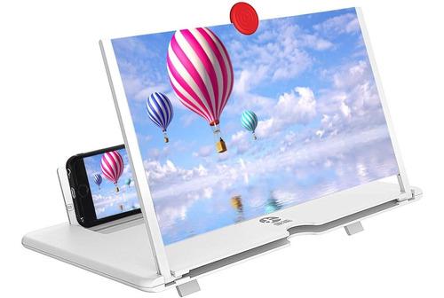 Pantalla De Video Del Telefono Celular Amplificador De...
