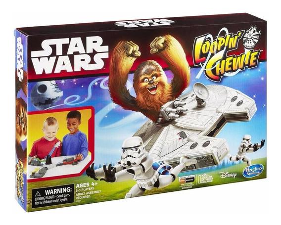 Jogo Tabuleiro Star Wars Loopin Chewie Estilo Looping Louie