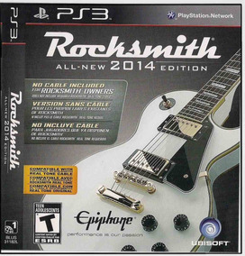 Rocksmith 2014 - All New Edition - Ps 3 - S/ O Cabo