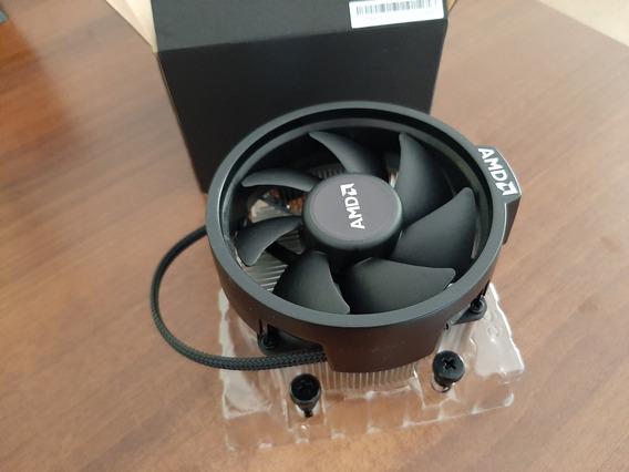 Cooler Amd Wraith Spire (novo) Socket Am4 (sem Led)