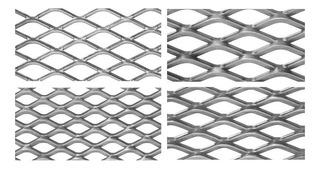 Metal Desplegado 450-16-20 En Hojas - Mallas - 1,22x3